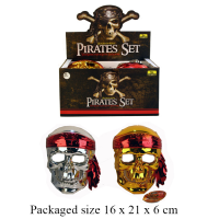 PIRATE MASK (2 ASSTD)