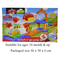 BABY WHEELS LAUNCH AND GO JUMP SET