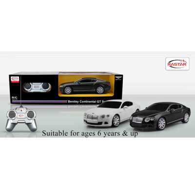 RDC 1:24 BENTLEY CONTINENTAL (2 ASSTD)