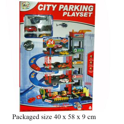 4 STOREY GARAGE WITH D/C CARS