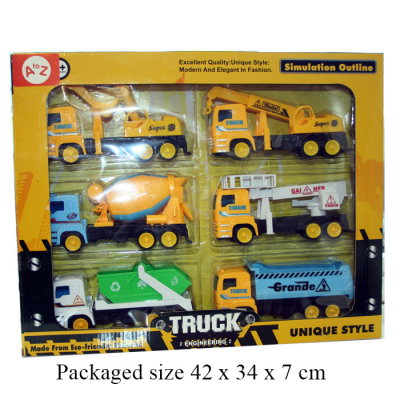 CONSTRUCTION TRUCK 6PCS