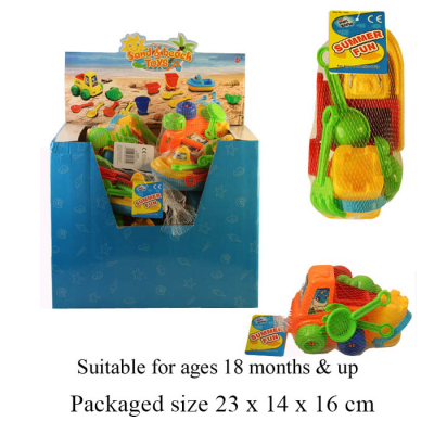 BEACH SET (2 ASSTD)(01622)