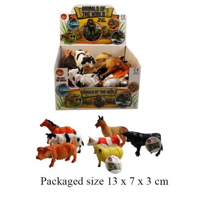 FARM ANIMALS 12 ASSTD