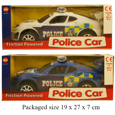 POLICE CAR WB (2 ASSTD)