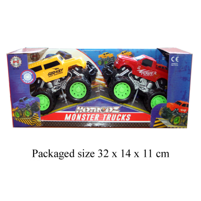 TWIN MONSTER TRUCKS