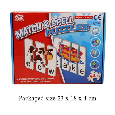 MATCH & SPELL PUZZLE