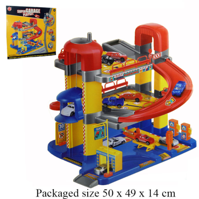 GARAGE PLAYSET WITH LIFT