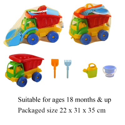 TRUCK WITH BEACH SET (2 ASSTD)