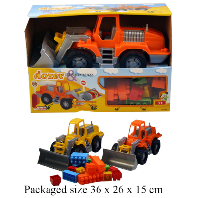 DIGGER WITH BLOCKS