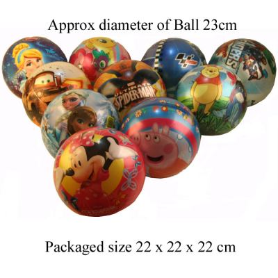 LICENSED FOOTBALLS 9 INCH ASSTD