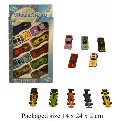 10 DIECAST CARS