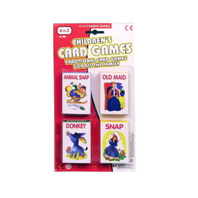 KIDDIES PLAYING CARDS 4PCS