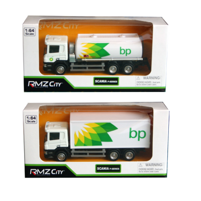 D/C 1:64 BP OIL TANKER/CONTAINER TRUCK