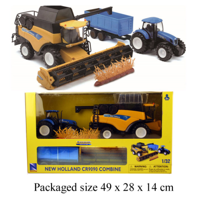 1:32 NEW HOLLAND TRACTOR AND HARVESTER