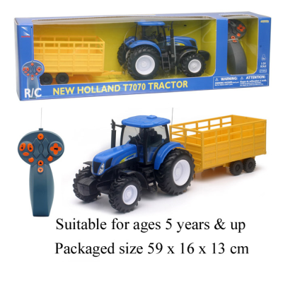 RDC 1:24 TRACTOR W TRAILER NEW HOLL