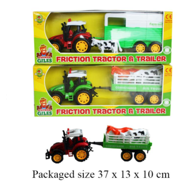 FARM TRACTOR & TRAILER 2 ASSTD