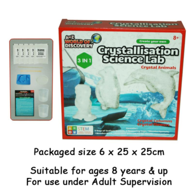 SCIENCE INSTANT CRYSTALLIZATION