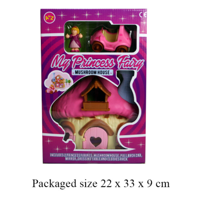 PRINCESS HOUSE SET (MED)