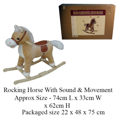 FAWN ROCKING HORSE