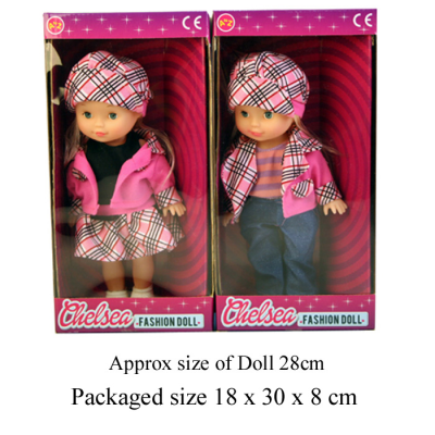 CHELSEA FASHION DOLL 2 ASSTD