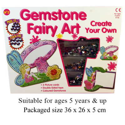 GEMSTONE FAIRY ART