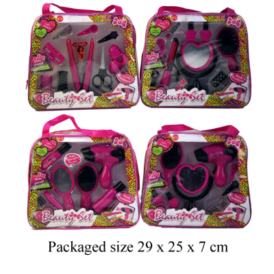 TRENDY BEAUTY SET IN PVC BAG (4 ASSTD)