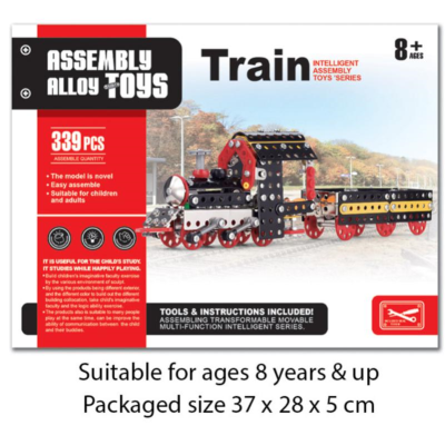 METAL MECHANIC TRAIN 339PCS