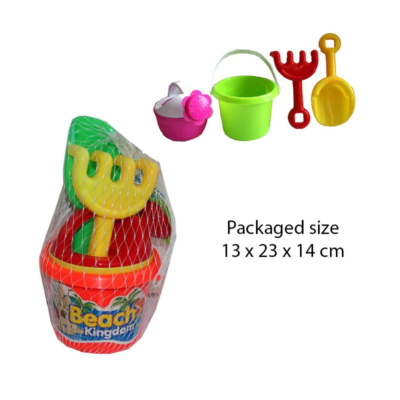 BUCKET SET WITH WATERING CAN