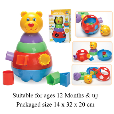 TEDDY BEAR SHAPE SORTER