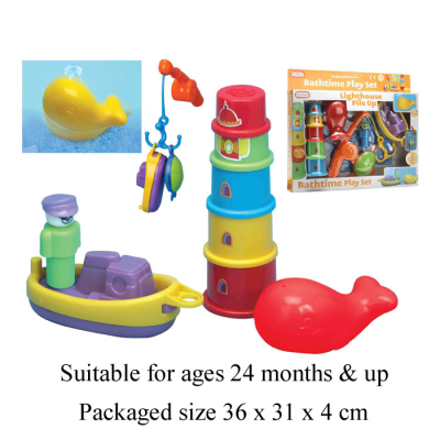 BATH TIME PLAY SET