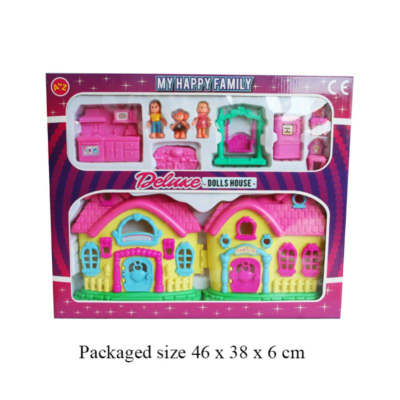 DELUXE DOLLS HOUSE    (31114)