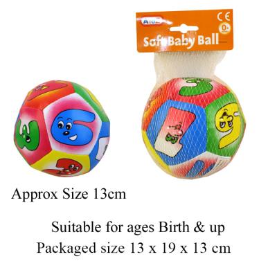 SOFT BABY BALL 13CM (62345)