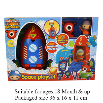 OUTER SPACE PLAYSET