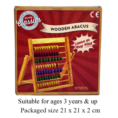 WOODEN ABACUS  MED