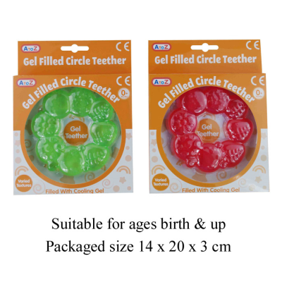 CIRCLE TEETHER (2 ASSTD)