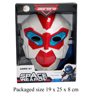 SPACE MASK WITH BATTERIES