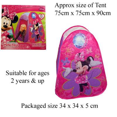 DISNEY MINNIE MOUSE TENT
