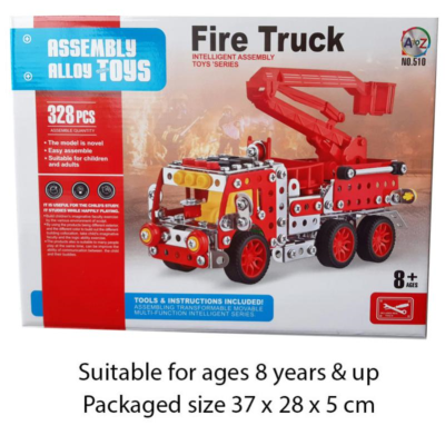 METAL MECHANIC FIRE ENGINE 328PCS