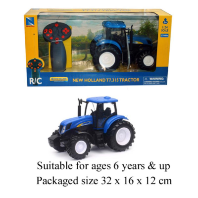 RDC NEW HOLLAND 1:24 TRACTOR