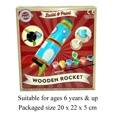 MYO WOODEN ROCKET KIT