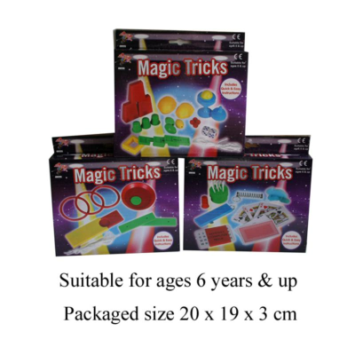 MAGIC TRICKS  3 ASSTD