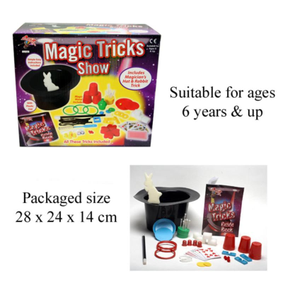 MAGIC TRICK SET WITH HAT  (00102)