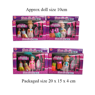 DRESS ME UP DOLL ASSTD (30001)