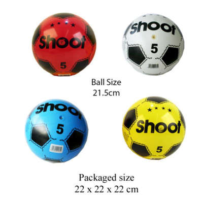 SIZE 5 FOOTBALL (INFLATED)