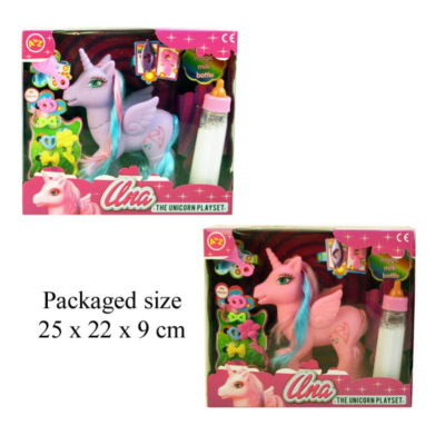 UNA THE UNICORN PLAYSET (2 ASSTD)