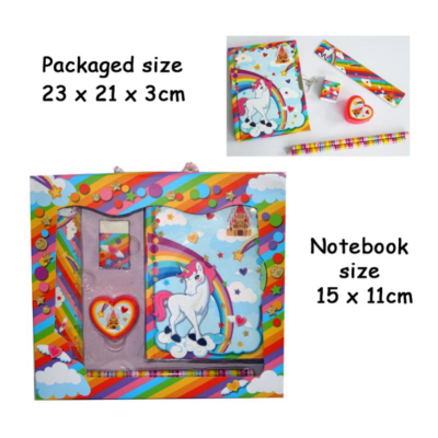 UNICORN DIARY SET