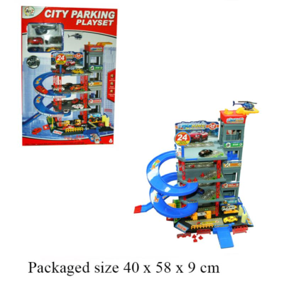 4 STOREY GARAGE WITH D/C CARS