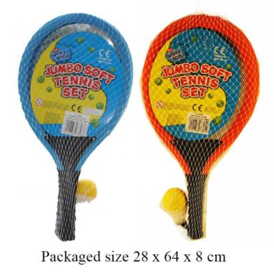 JUMBO TENNIS W SHUTTLECOCK & BALL