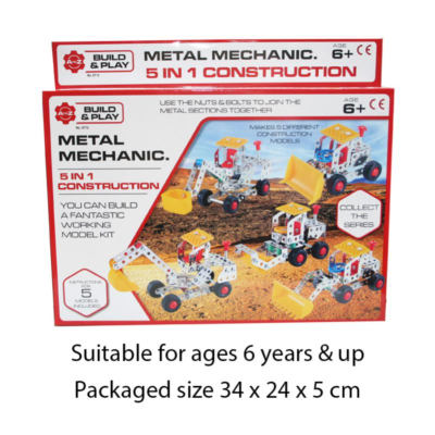 METAL MECHANICS 5 IN 1 139PCS