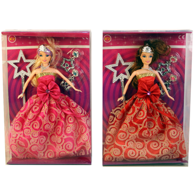 28CM TEEN PRINCESS DOLL 2 ASSTD